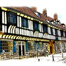 St William's College  -  York. by Trevor Kersley