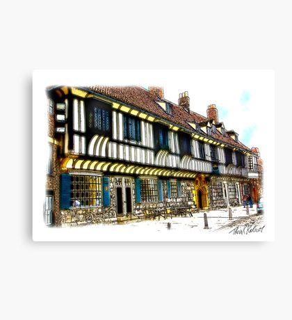 St William's College  -  York. Canvas Print