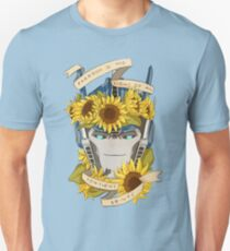 Optimus Prime  - Sunflowers Unisex T-Shirt