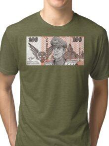 General M Bison Street Fighter the Movie Dollar Tri-blend T-Shirt