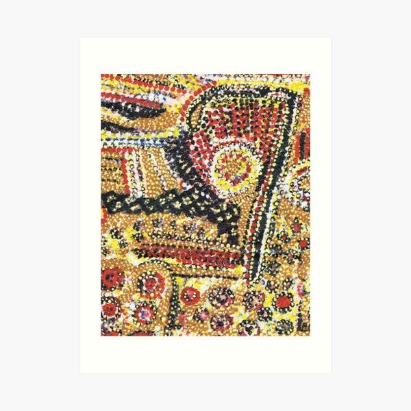 Aboriginal Spiritual Painting Art Print
