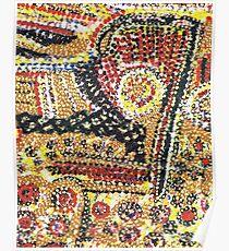 Aboriginal Spiritual Painting Poster