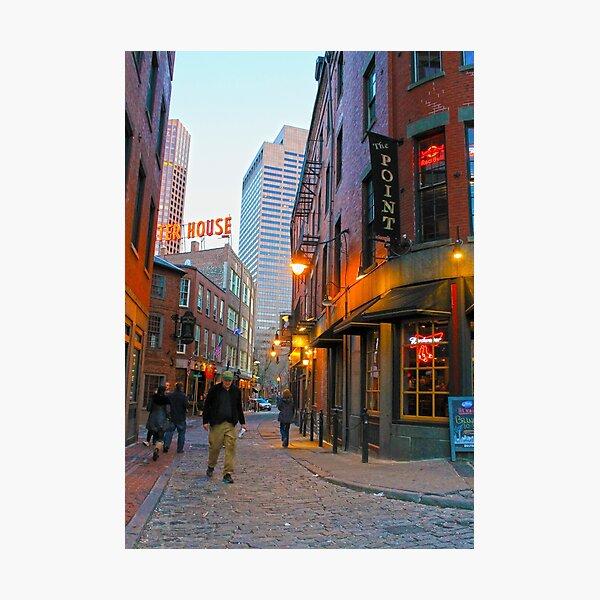 Boston, MA: Feneuil Marketplace Photographic Print