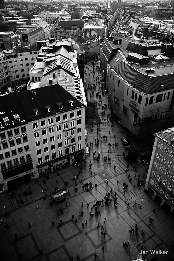 Munich from Above by Ben Walker