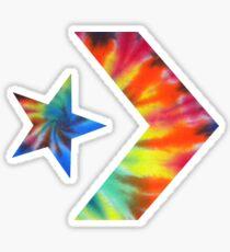 Pegatina Tie Dye Converse Logotipo