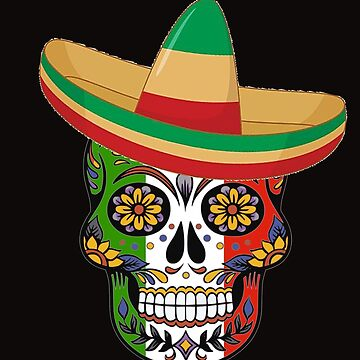 Cinco De Mayo 2019 Skull by galleryOne