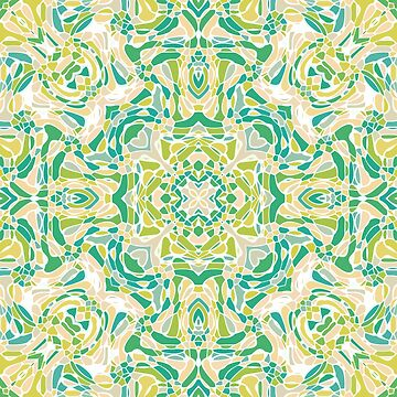 Flowering Fields Mandala by kellydietrich