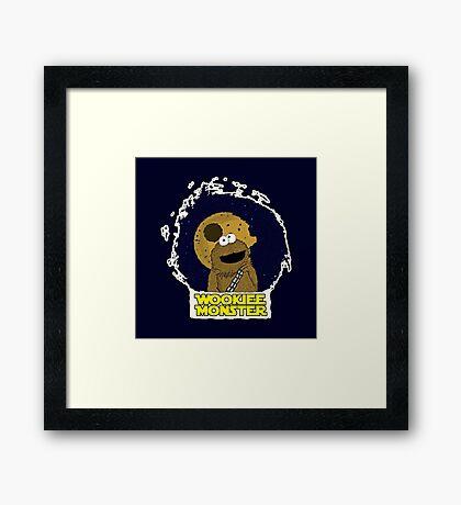 Wookiee Monster... Framed Print