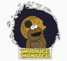 Wookiee Monster... Kids Tee