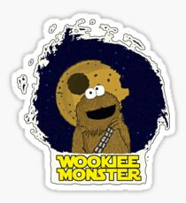 Wookiee Monster... Sticker