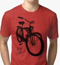 Old Skool Bicycle Tri-blend T-Shirt