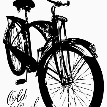 Old Skool Bicycle by alloallo82
