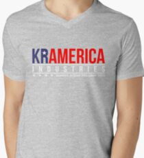 KRAMERICA INDUSTRIES Men's V-Neck T-Shirt