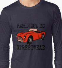 Fashionista Auto Orange Long Sleeve T-Shirt