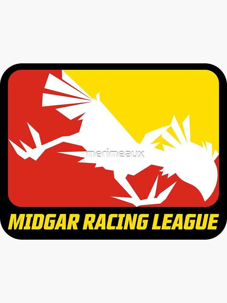 Sticker! Midgar Racing League by merimeaux