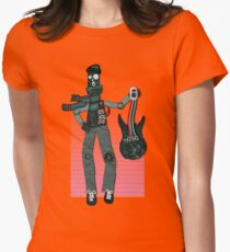 Unplugged ...  by Perrin Women's Fitted T-Shirt