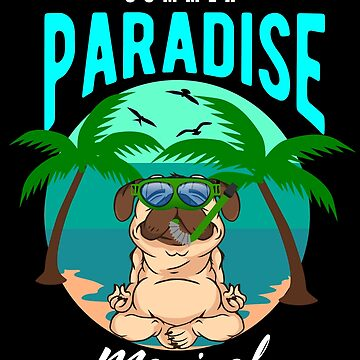 Pug Paradise Summer Magical by Daniel0603