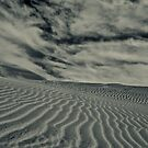 Wavy Desert Sand by Amir Sourial