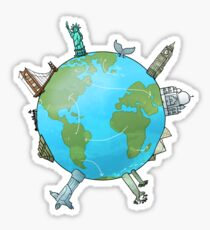 Travel fever Sticker