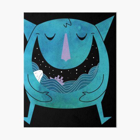Swallowed By The Sea Art Board Print