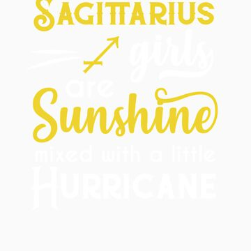 Sagittarius Girls Are Sunshine Mixed With A Little Hurricane Zodiac Star Sign Birthday Horoscope Gif by orangepieces