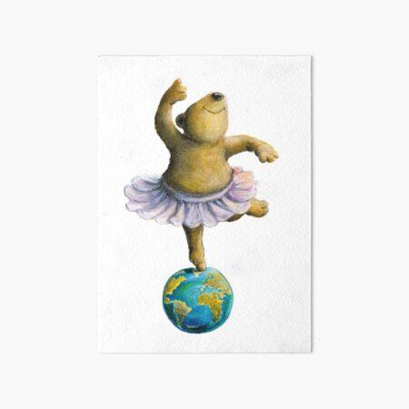 Ballerina Bär Galeriedruck