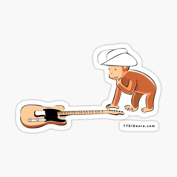 77 El Deora -Guitar George Sticker