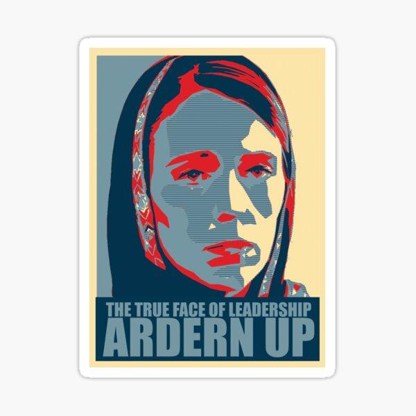 Ardern Up Sticker