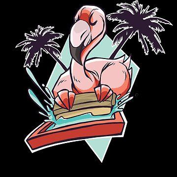Flamingo summer by Daniel0603