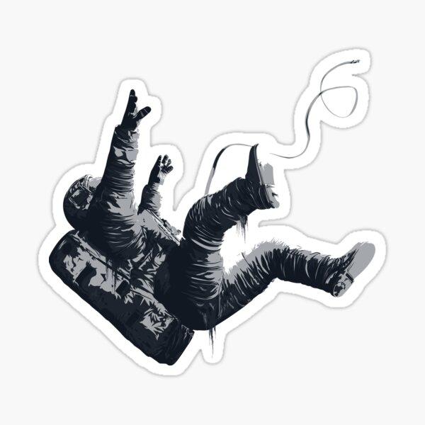 Death By Blackhole - Freefall Astronaut Sticker
