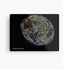 Synaptic Connections Metal Print