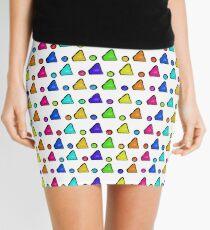 Colorful Geometric Mini Skirt
