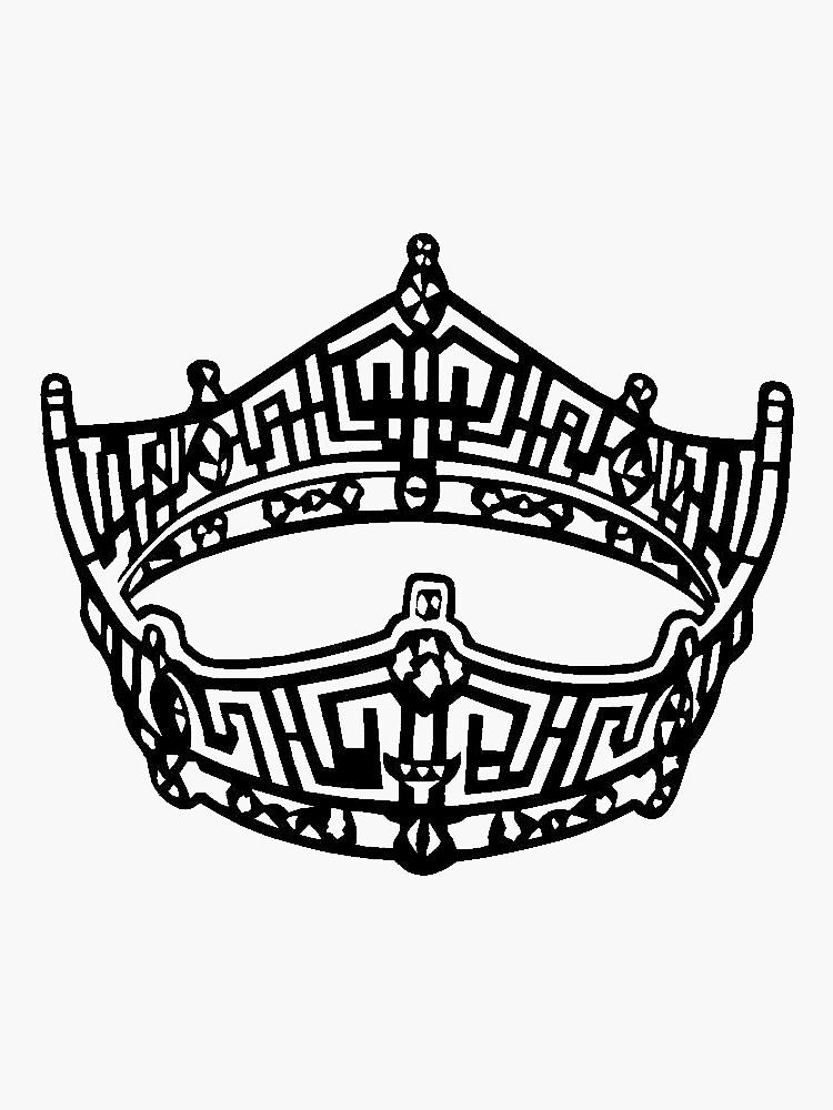Miss America Crown Logo by prepoftheplains