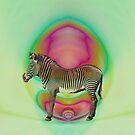 zebra by Bronia Sawyer