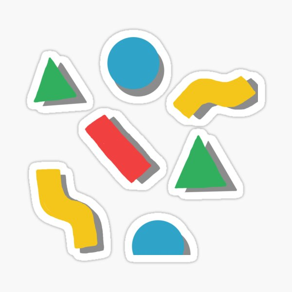 shapes Sticker