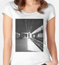 Station Women's Fitted Scoop T-Shirt