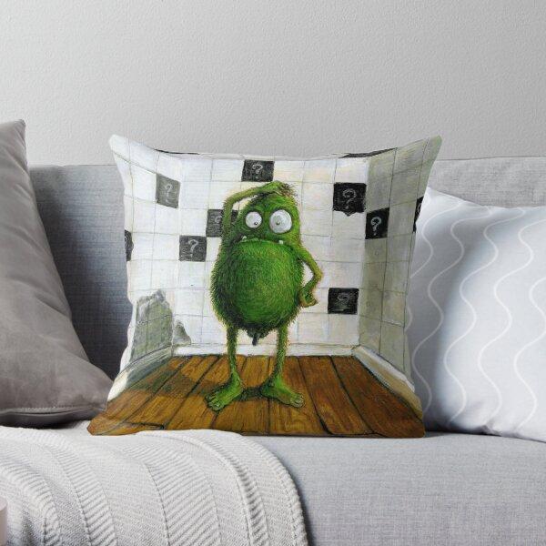 confused green monster... Dekokissen