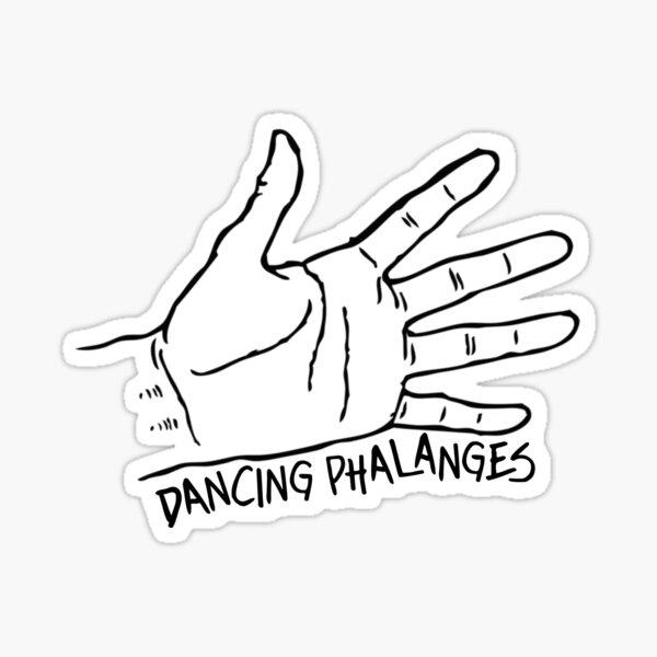 Dancing Phalanges Sticker
