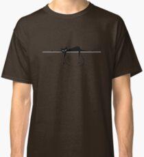 Relax. Black cat silhouette Classic T-Shirt