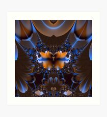Her Beauty is Compared To None Art Print