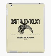 Grant Paleontology iPad Case/Skin