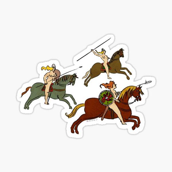 La chevauchée des Valkyries - la chasse sauvage Sticker