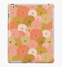 Sea Urchins in Gold + Coral iPad Case/Skin