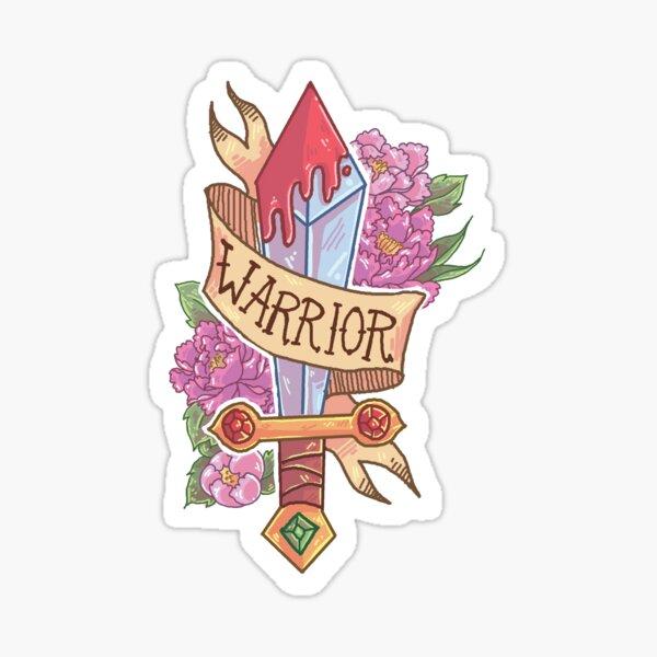 WARRIOR CLASS Sticker