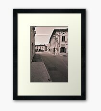 the town of Vipava Framed Print