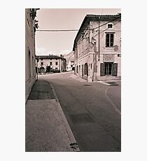 the town of Vipava Photographic Print