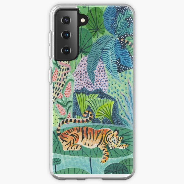 Jungle Tiger Samsung Galaxy Soft Case