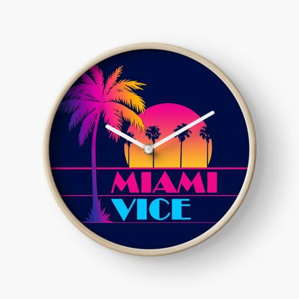 Miami Vice - Clean 80s design Clock