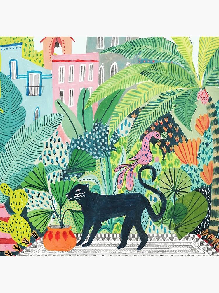 Dschungel Panther von amberstextiles