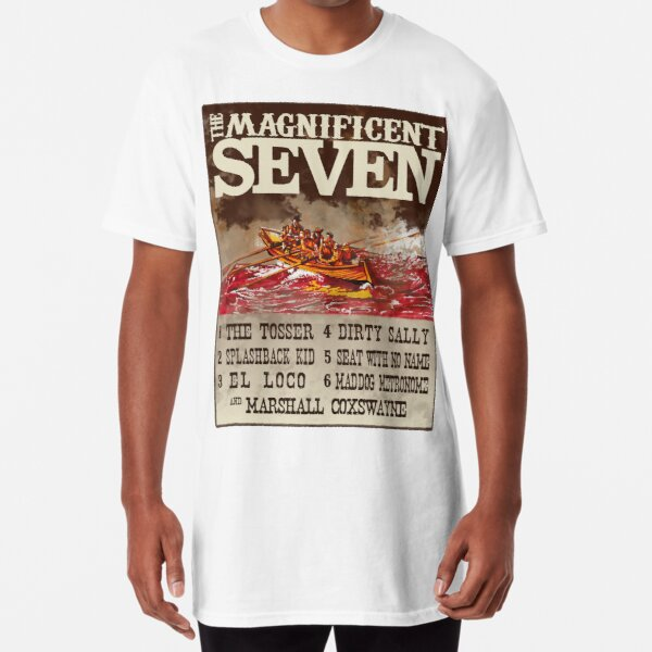 The Magnificent 7 Row Again Long T-Shirt
